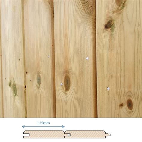 12mm Shiplap Tongue And Groove Pressure Treated Tongue And Groove Kudos Fencing Supplies