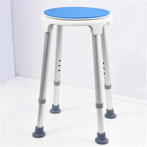 Nrs Shower Stool With Swivel Seat Vat Exempt Nrs Shower Chair With Swivel Seat