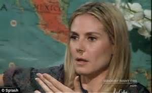 Heidi Got A New Nose To Go With by Heidi Klum Kicks New Show Seriously