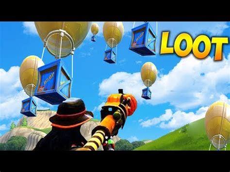 legendary loot drop hunting fortnite battle royale