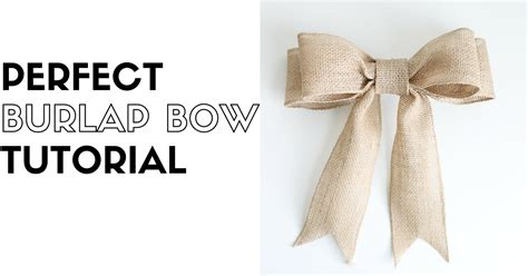 how to place burlap bow and burlap streamers on christmas tree diy burlap bow tutorial suite