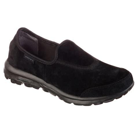 skechers s gowalk winter slip on walking shoes wide
