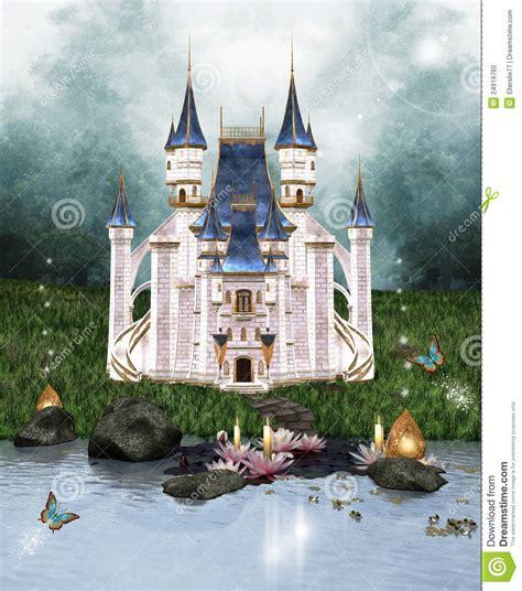 Enchanted Castle enchanted castle stock illustration illustration of