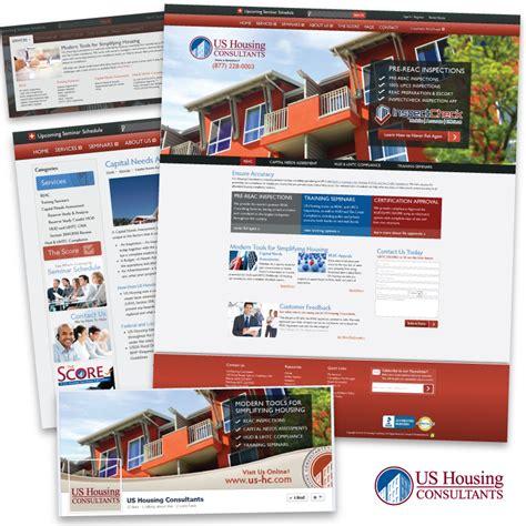 us housing consultants us housing consultants website design development the scribbit illustration