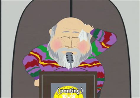 rob reiner south park sweating rob reiner gif by south park find on giphy