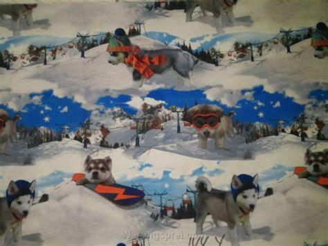 Seprei Katun Jepang 183 sprei anti air estrela anjing salju uk 160 warungsprei
