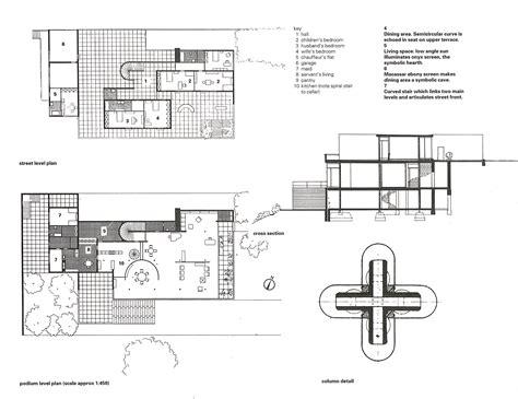 villa tugendhat floor plan planzoom 01 architecture pinterest ludwig mies van
