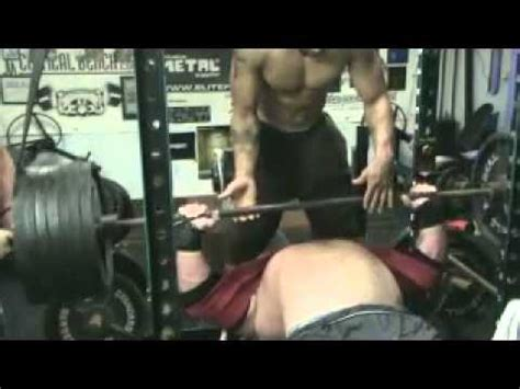 raw bench press training joey smith raw max effort bench press training