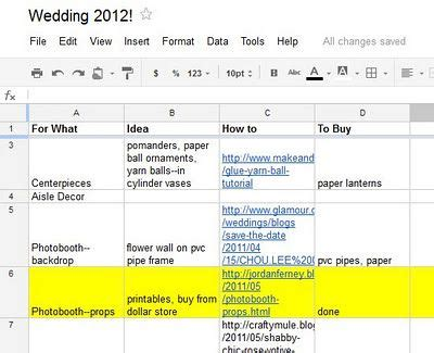 Wedding Vendor Spreadsheet by 25 Best Ideas About Wedding Spreadsheet On