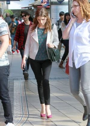 Anna kendrick the grove in west hollywood