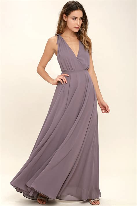 dusty purple lovely dusty purple maxi dress backless maxi dress pink gown 84 00