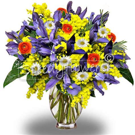 bouquet mimosa e fiori foto inviare fiori festa della donna spedire fiori 8 marzo