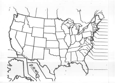printable us map test thur blank us map please print out blank map for today