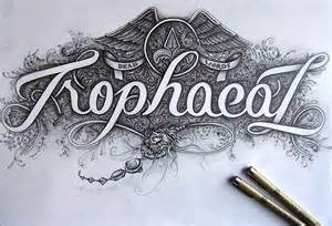 10 examples of hand lettering design work