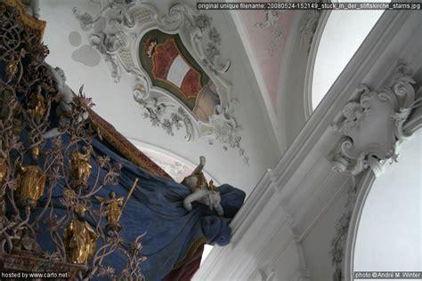 der stuck stuck in der stiftskirche stams besuch im stift stams