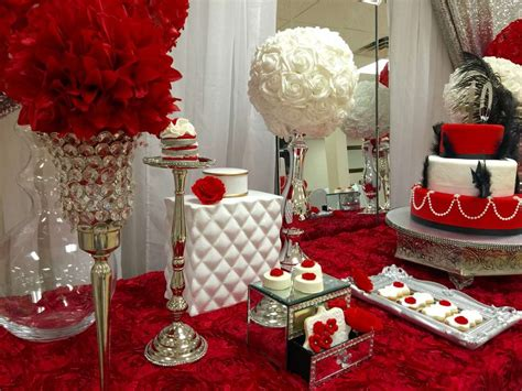 party themes with red red roses birthday party ideas photo 1 of 14 catch my