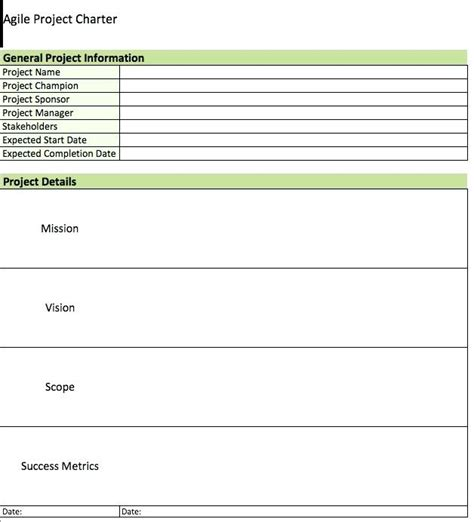 charter exles project charter template ottawa charter