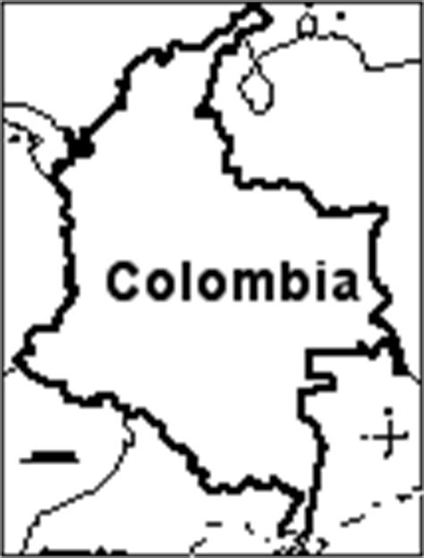 colombia map coloring page colombia s flag enchantedlearning com