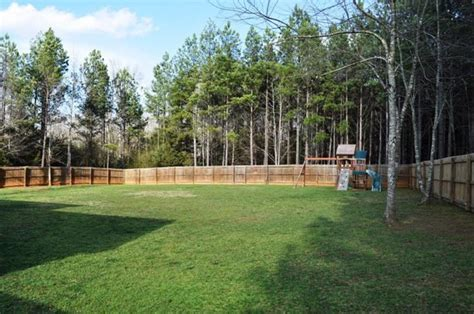 large backyard big backyard yard pinterest