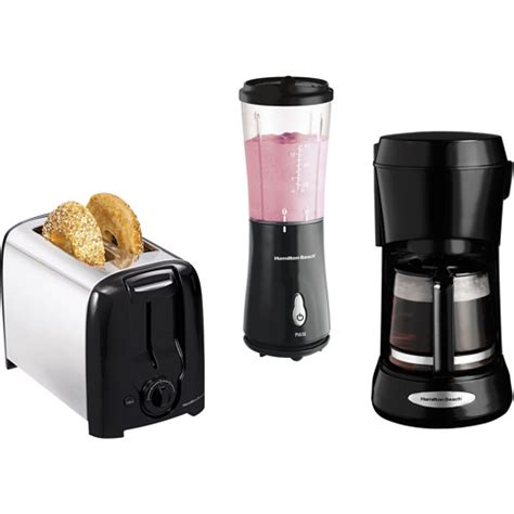 Coffee Maker Toaster Hamilton Beach Toaster Blender And Coffee Maker Value