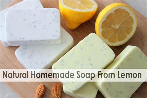 How To Make Handmade Soap Organic - how to make lemon poppy seed soap diy