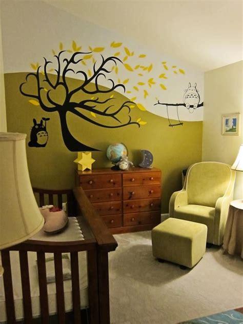 Totoro Bedroom Decor by Our Totoro Nursery Totoro Nursery Totoro