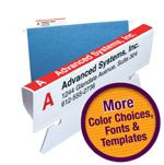 smead label templates new smead viewables 174 4 0 color labeling system makes