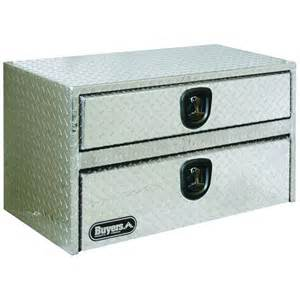 buyers products company 48 in aluminum underbody tool box