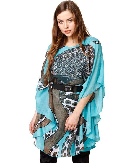 Vanesa Kaftan octopus kaftan blue dress buy