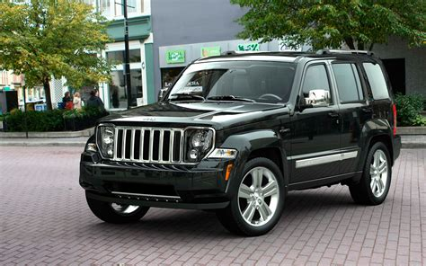 Jeep Liberty 2012 Black 2012 Jeep Liberty Black Front Three Quarters Photo 13