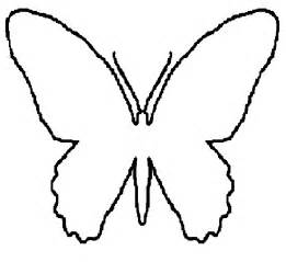 cut out template butterfly template cut out