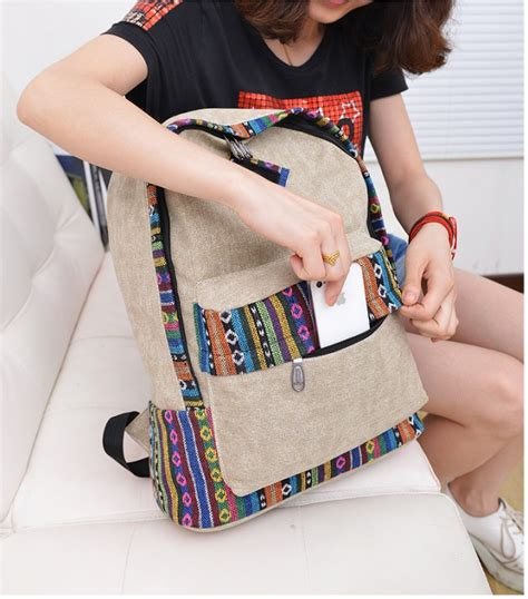 Tas Sekolah Ransel Wanita Cantik Motif Polkadot tas ransel wanita cantik 2014 model terbaru jual murah import kerja