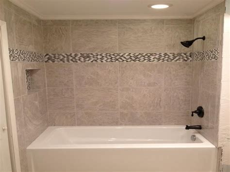 Bathroom Tub Shower Tile Ideas 18 Photos Of The Bathroom Tub Tile Designs Installation
