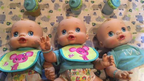 anatomically correct boy doll that wets feeding 3 baby alive wets n wiggles boys boy dolls