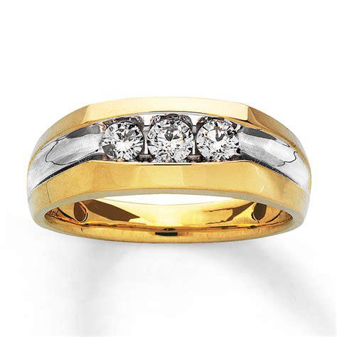 mens yellow gold rings jared mens ring ct