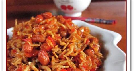 Sambal Ijo Teri Medan Enaakk masakan melly sambal teri medan kacang