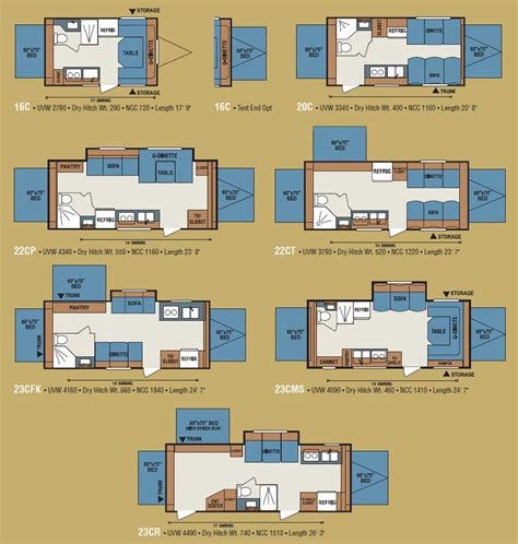 kz coyote travel trailer floorplans large picture