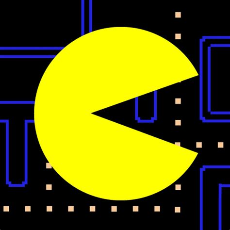 of pacman pac man icon gamer
