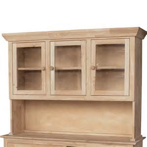 Kitchen Buffet And Hutch Furniture Traditional Wood Buffet And Hutch 3 Door