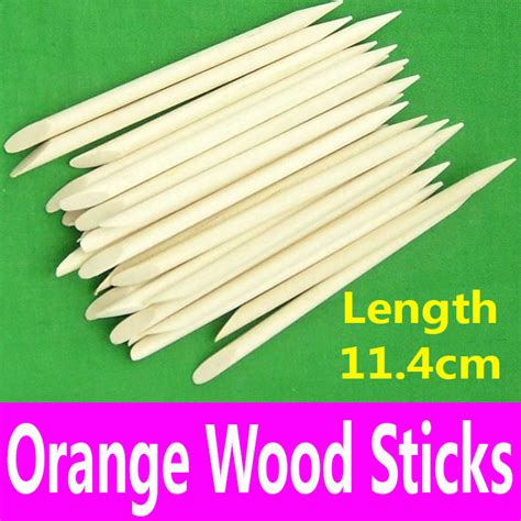 Wood Stick Nail Dotting Tool Cuticle Pusher aliexpress buy 1 nail dotting tool orange wood sticks cuticle pusher remover
