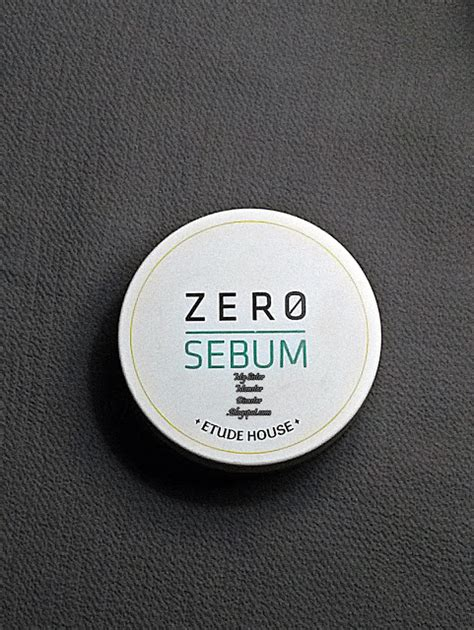 Bedak Etude Zero Sebum review etude house zero sebum drying powder