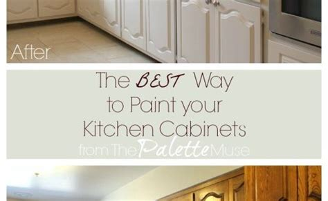 what is the best way to paint kitchen cabinets the best way to paint kitchen cabinets kitchens paint