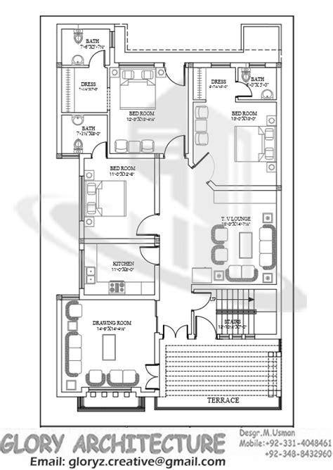 40x80 house plan 35 x 70 ff working plans pinterest house house layouts and small house plans