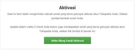 email tokopedia cara mendaftar akun di tokopedia arigamcoy
