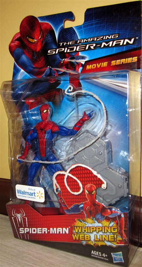The Amazing Whipping Web Line Hasbro amazing spider series walmart exclusive