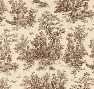 Brown Toile Curtains fabric shower curtain custom jamestown toile brown by homeandhome