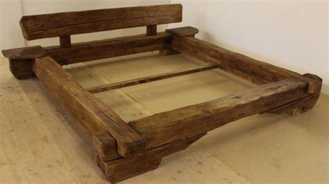 Futon Bettrahmen by 17 Best Ideas About Wooden Beds On Solid Wood
