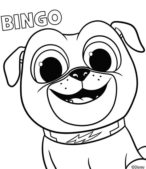 puppy pals bob puppy pals bob coloring pages printable puppy best free coloring pages