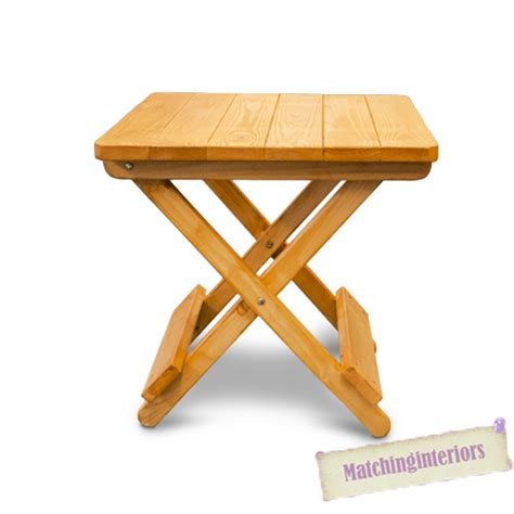 small picnic bench oak colour wooden side folding picnic cing table small