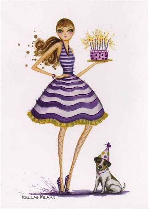 Happy Birthday Vogue by Pilar Happy Birthday Birthday Wishes